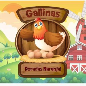 Gallinas Doradas Naranjal